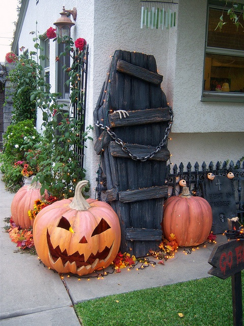 Coffin for Halloween decorating