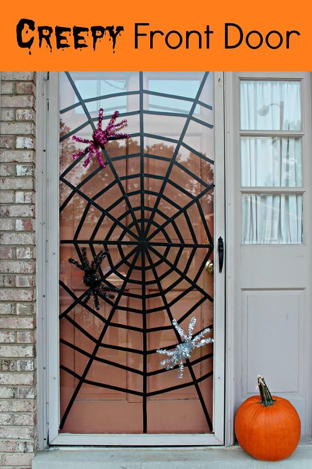 Classroom Website Ideas ~ Best halloween door decorations for