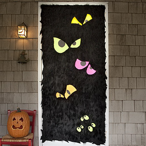 Flurry front door for Halloween