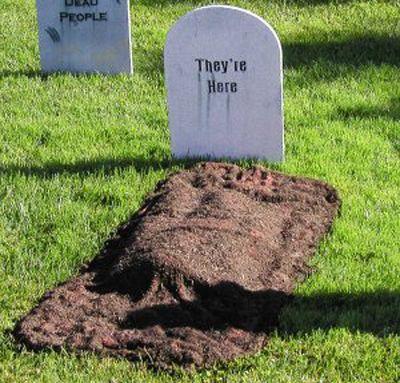 Graveyard for Halloween