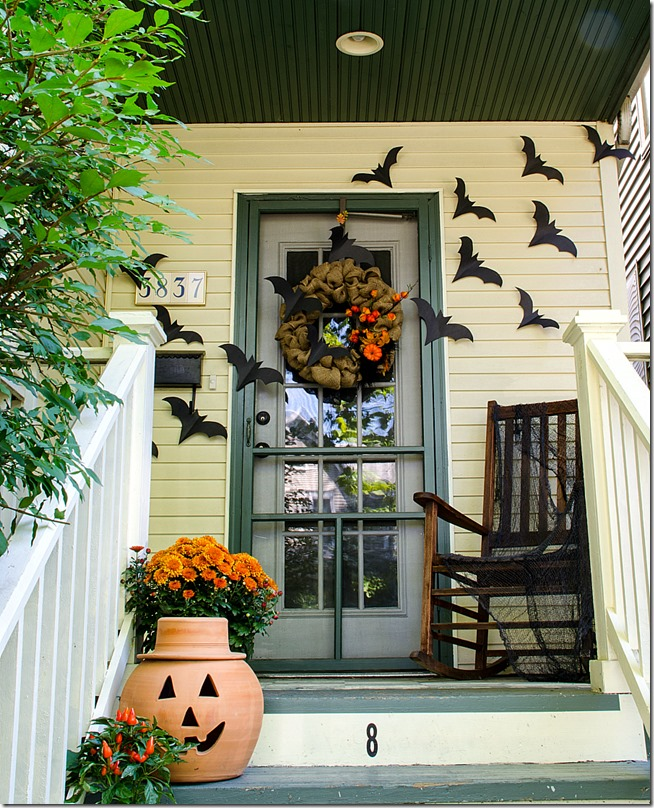 Happy Halloween Front Porch