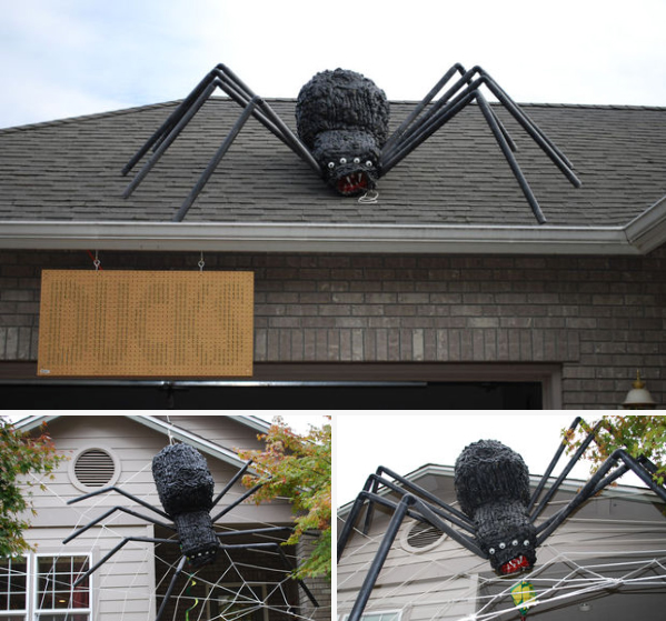 Scary homemade halloween decorations - 50 Best Diy Halloween Outdoor Decorations For 2017