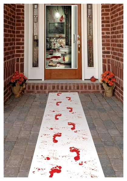 Bloody Halloween Door Decor