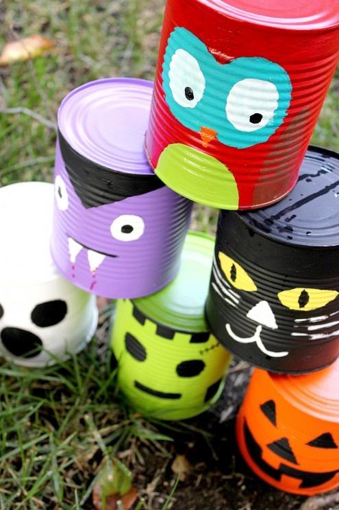 Halloween Tin Project Décor