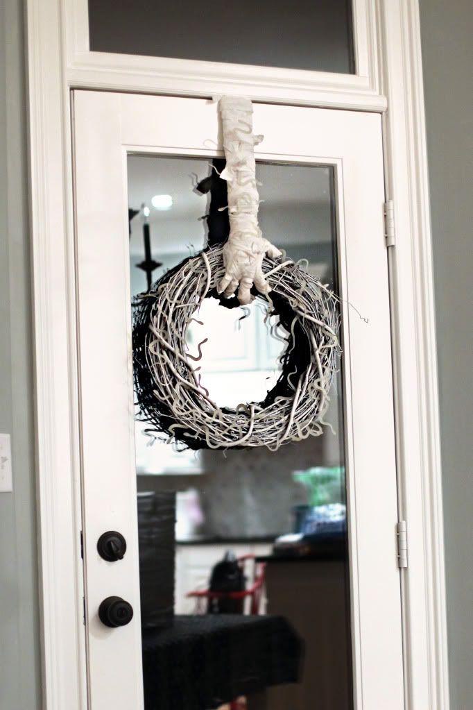 Buddy mummy door wreath