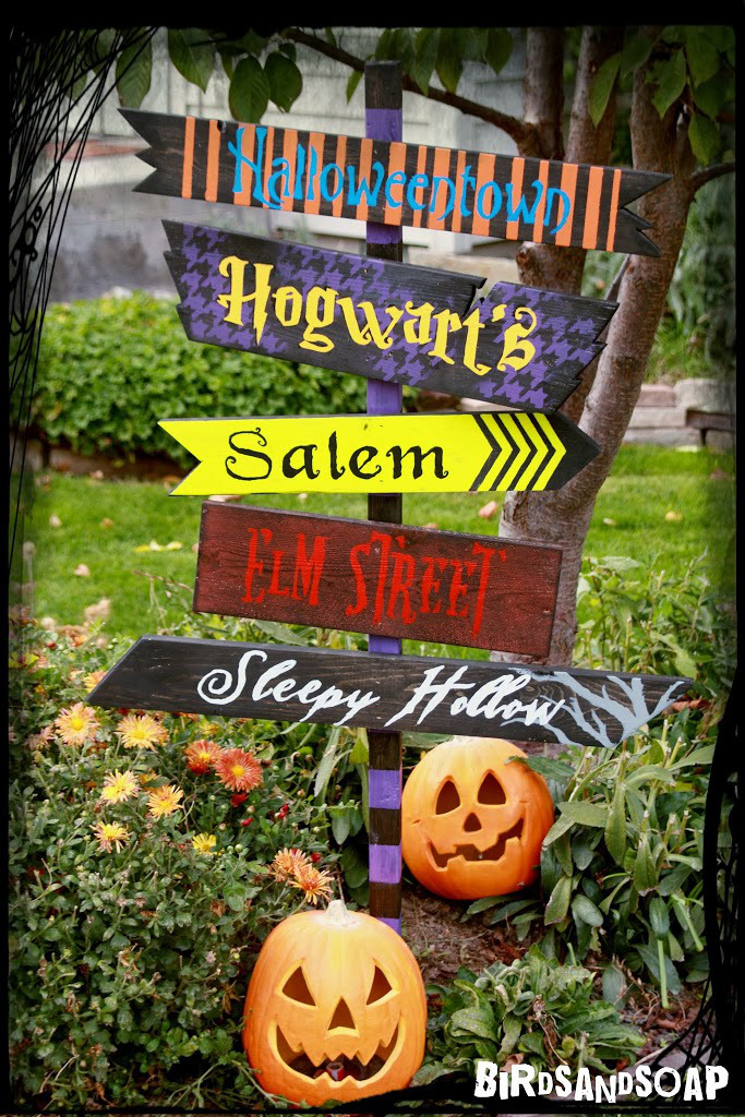 for the love of hollywood - Diy Halloween Outdoor Decorations