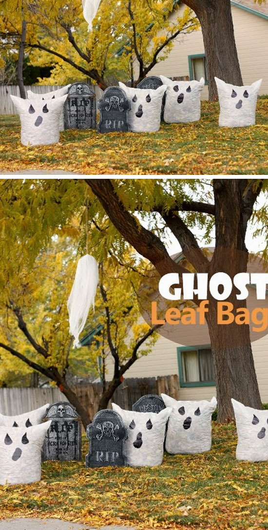 50 best diy halloween outdoor decorations for 2017 - Homemade halloween decorations ...