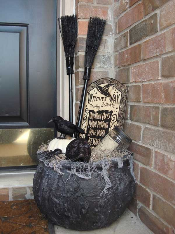 halloween hodgepodge - Diy Halloween Outdoor Decorations