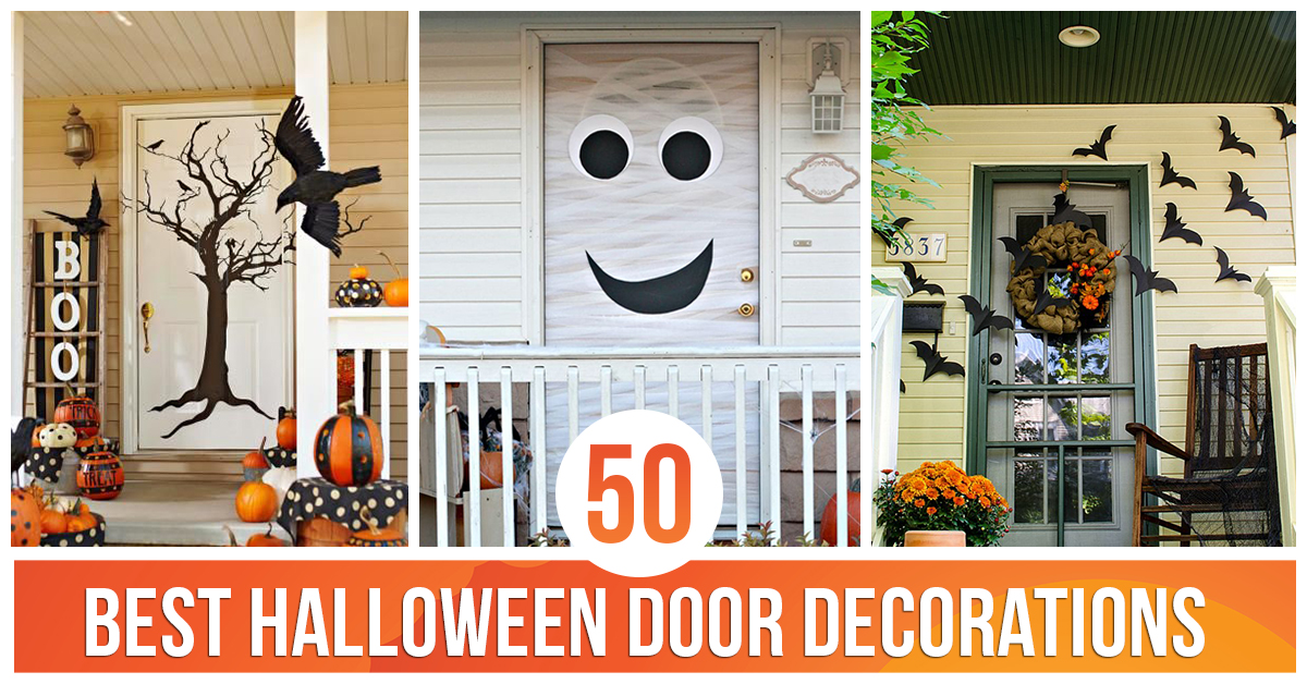 50 Best Halloween Door Decorations for 2016 - Best Halloween Decorations 2016