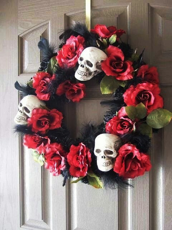 The Day of the Dead Wreath