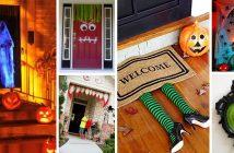 60 Best Halloween Door Decorations
