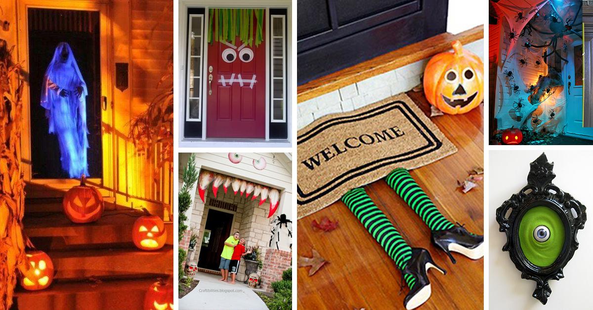 63 Best Halloween Door Decorations For 2020