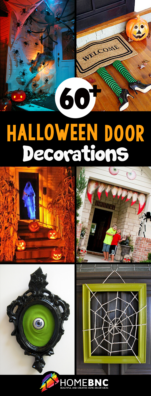 Halloween skeleton door decorations - Halloween Door Decoration Ideas