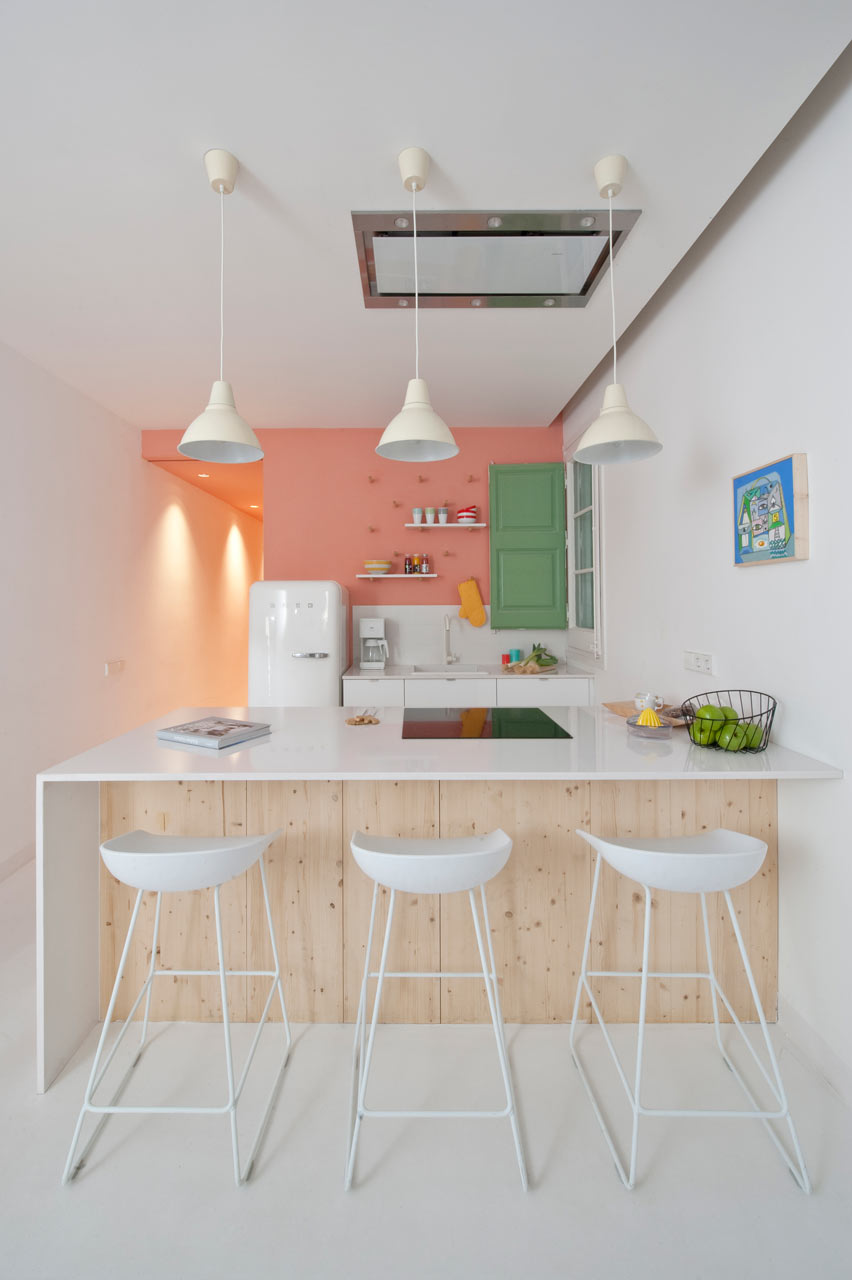 Quirky Touches for a Fresh Look Kitchen Design Idea