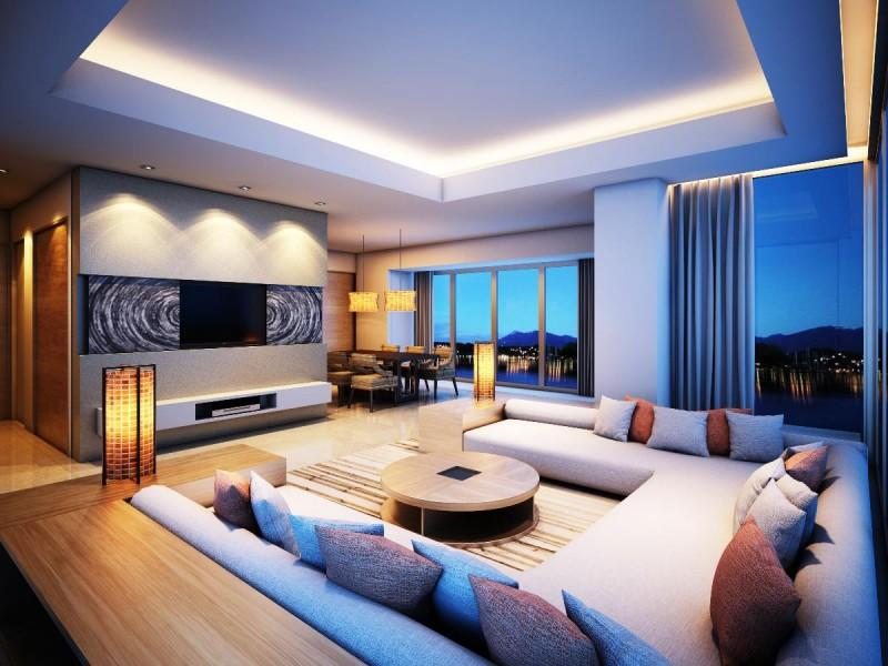 Lovely Best Modern Living Rooms Nice Design