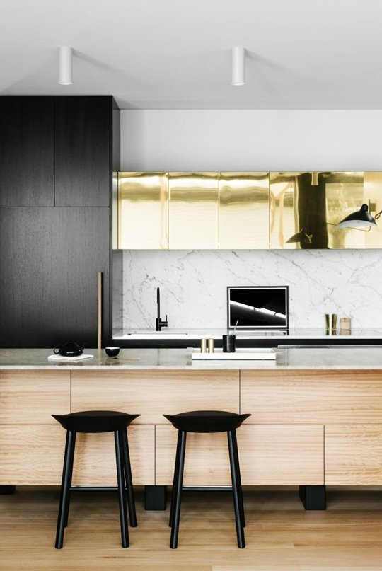 Gilded Glamour Kitchen Decoration