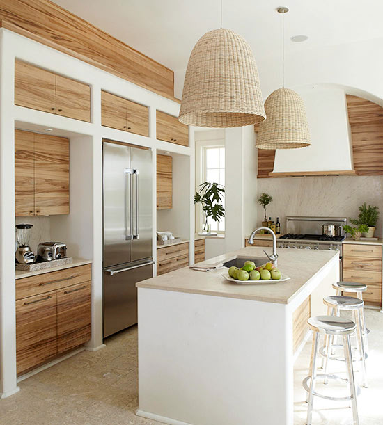 Charmant Hints Of An Island Paradise Kitchen Design Ideas
