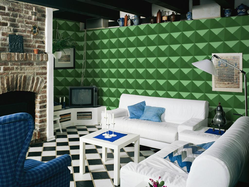 Vintage 3D Living Room Design