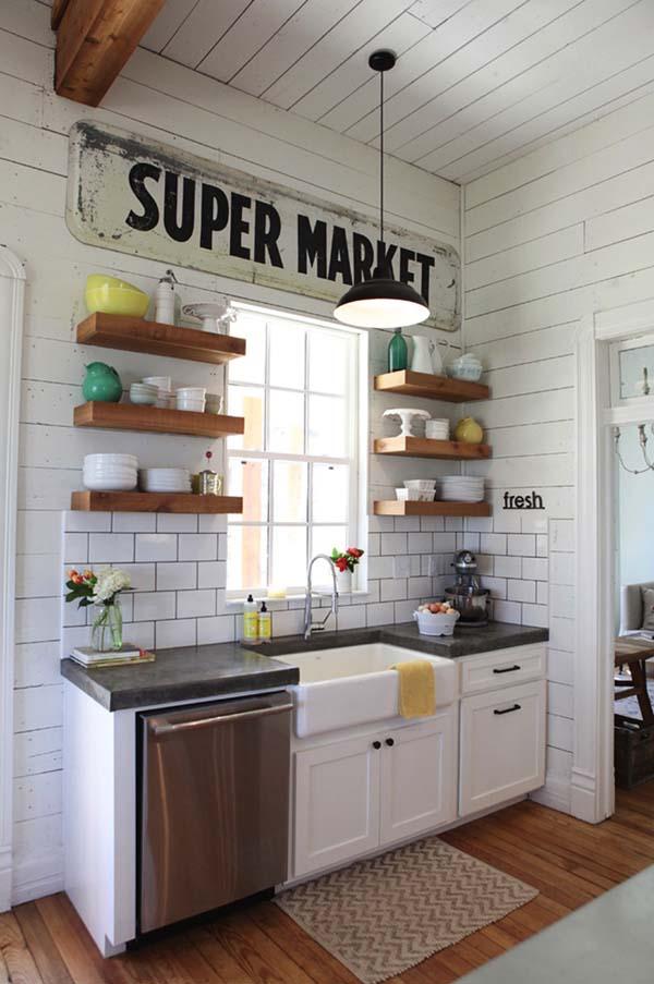 Farm Fresh Appeal Kitchen Decoration Idea