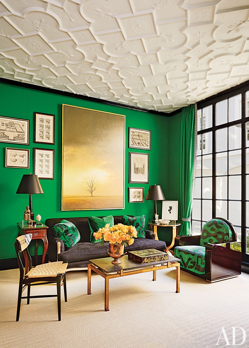 50 best living room design ideas for 2017 - Jewel tone living room ...
