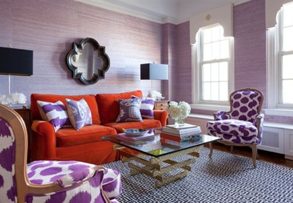 Maximum Color Living Room Idea