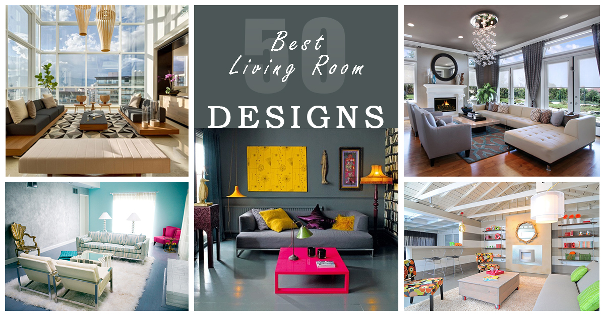 50 Best Living Room Design Ideas for 2018  Homebnc