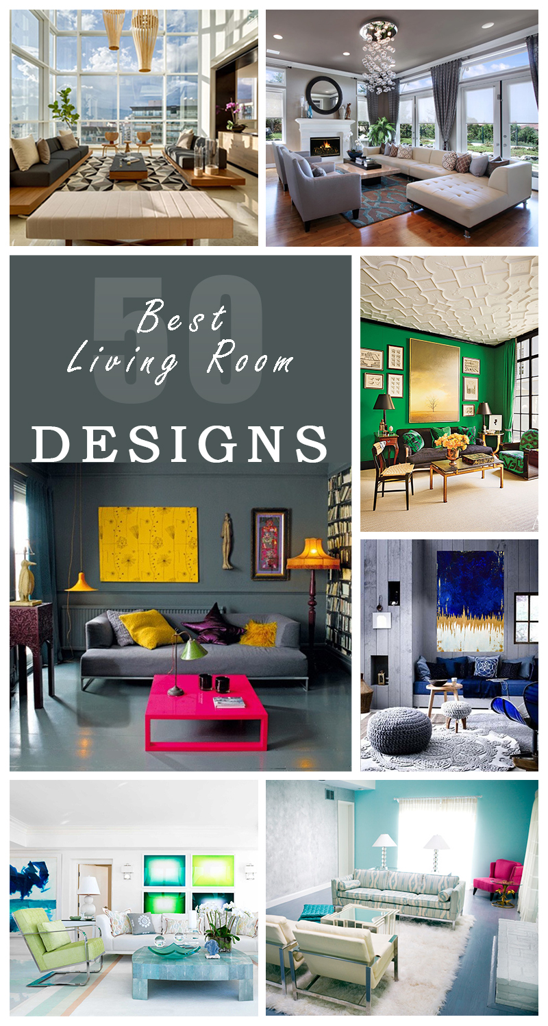 The Best Living Room Design 50 Best Living Room Design Ideas For 2017