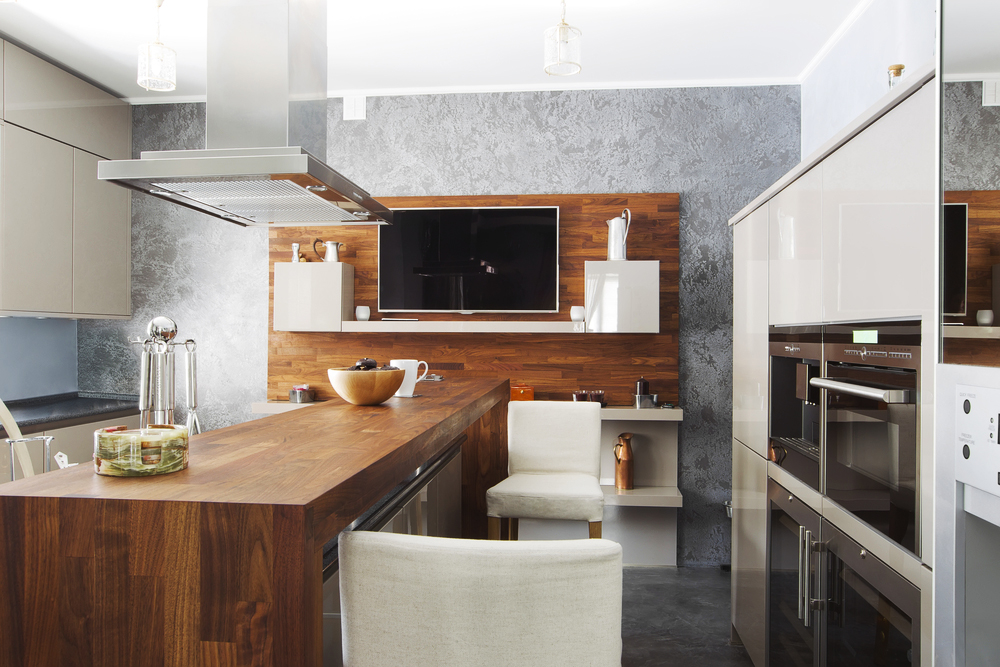 better than a sports bar kitchen island idea - Kitchen Design Ideas With Island