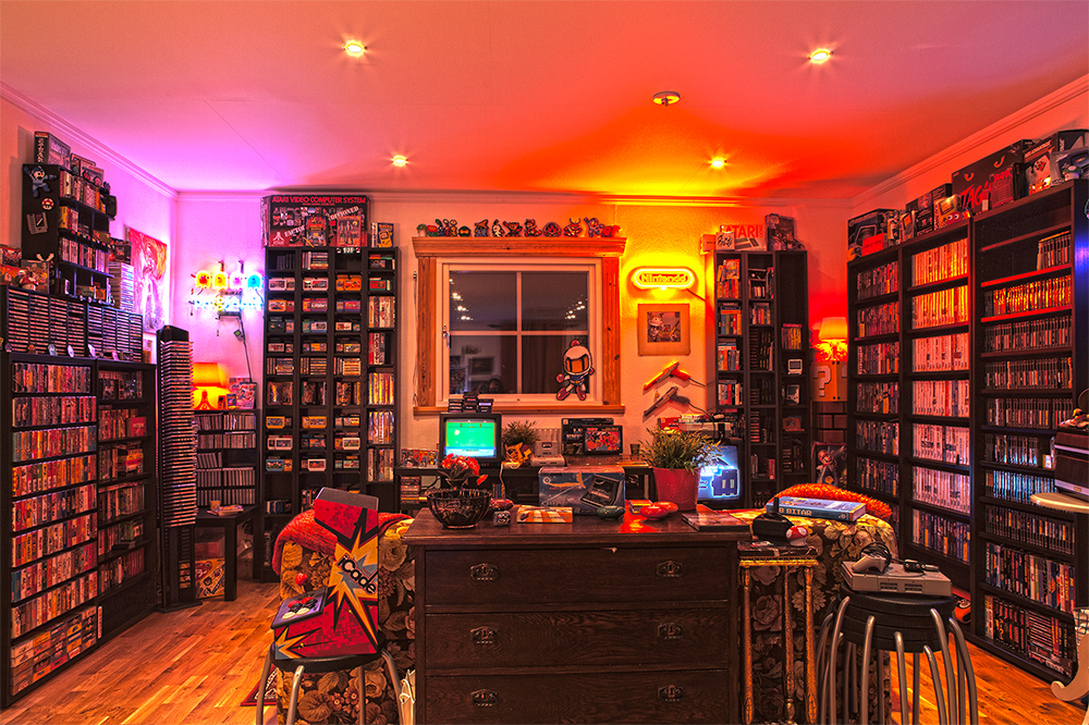 Epic Video Game Room Decoration Ideas For