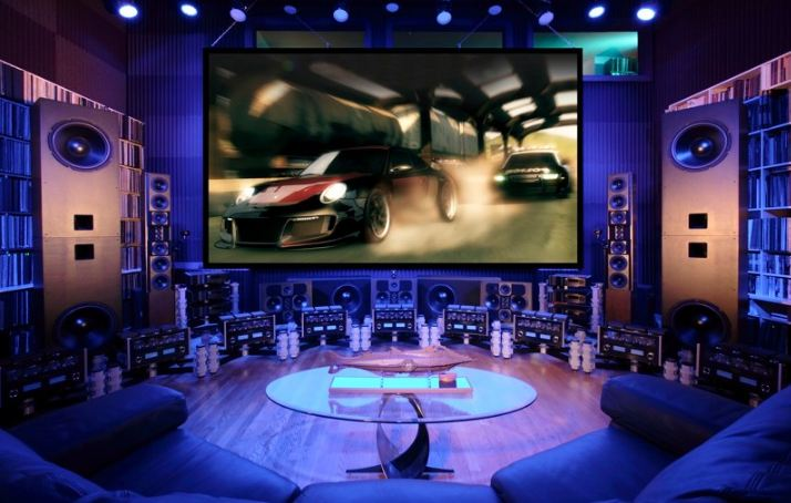 47 epic video game room decoration ideas for 2018 3 sensational surround sound solutioingenieria Image collections