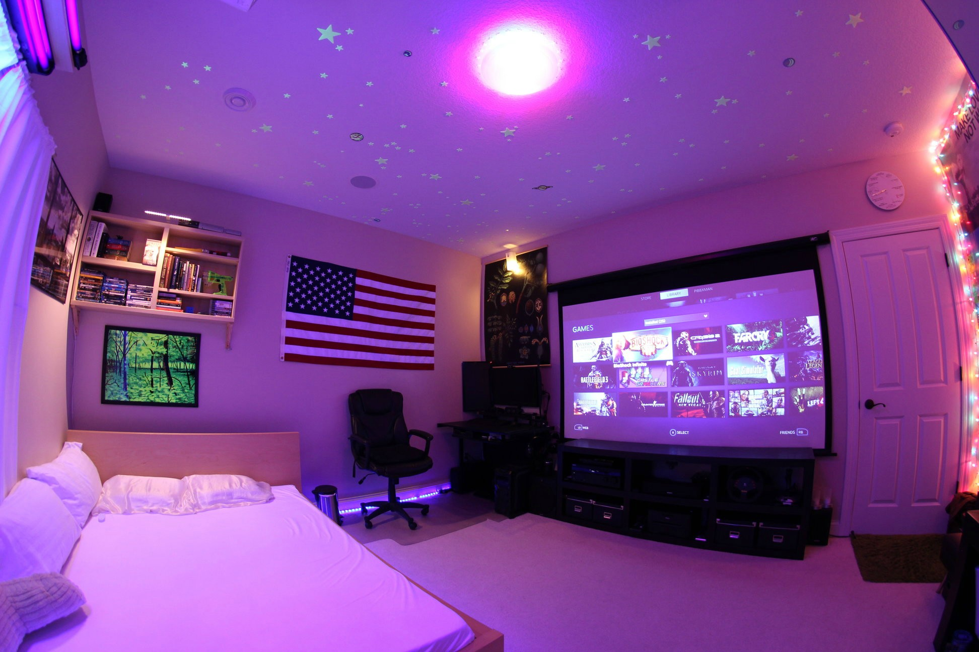 47 epic video game room decoration ideas for 2016 for Room decorating games