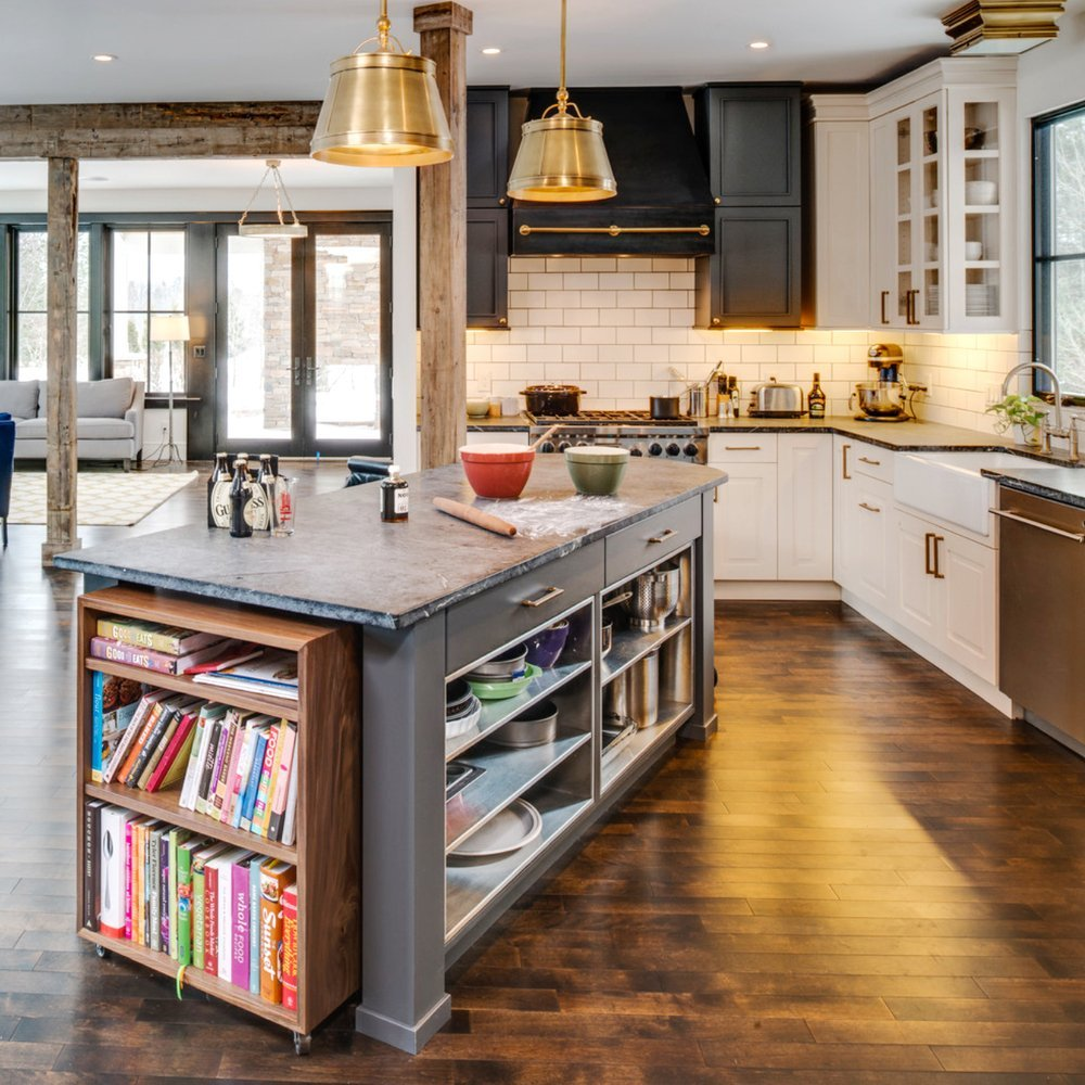 Open Kitchen Island: 50 Best Kitchen Island Ideas For 2017