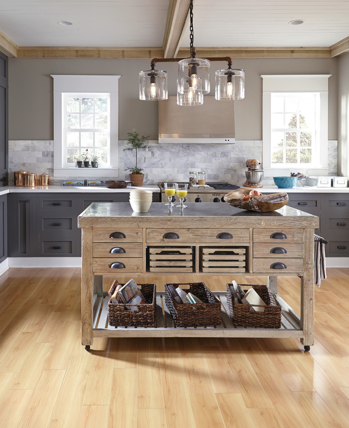 15 unique kitchen island design ideas style motivation for Unique kitchen island designs