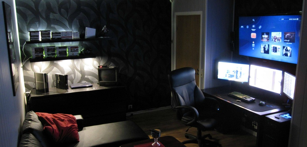 game room lighting ideas.  room accent lighting makes all the difference with game room ideas d