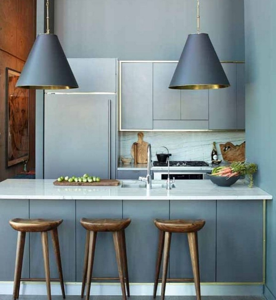 Maximize Your Inner Minimalist Kitchen Island