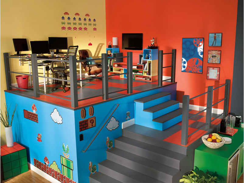 Wall Decor Set Up : Epic game room decoration ideas for