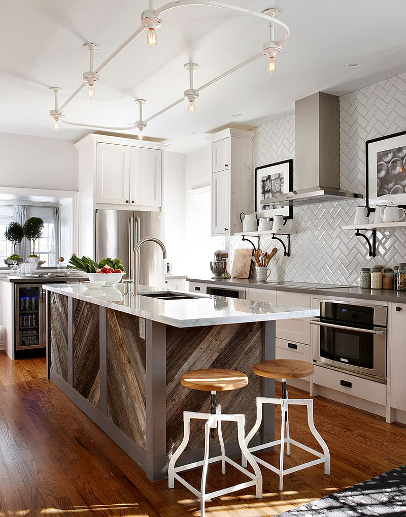 50 best kitchen island ideas for 2017 for Pictures of kitchen designs with islands