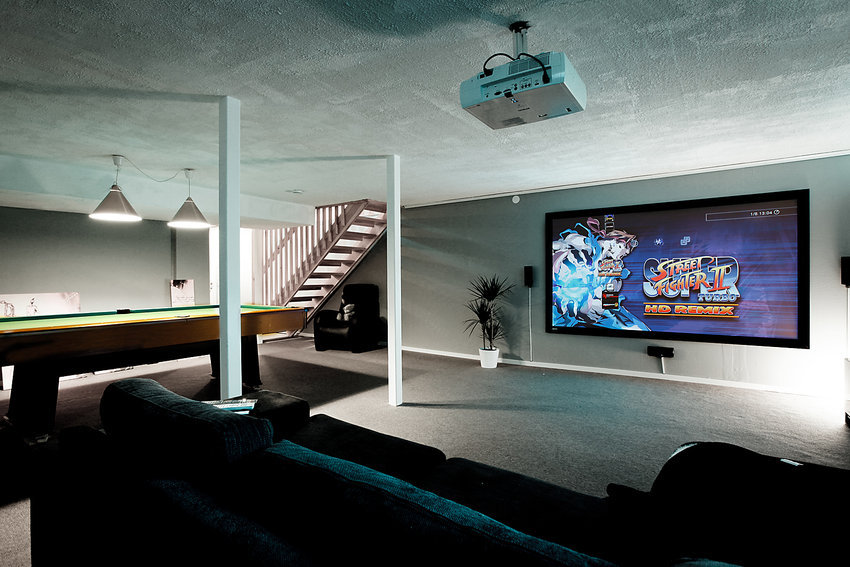 Awesome Room Ideas Part - 16: 15 Awesome Video Game Room Design Ideas You Must See
