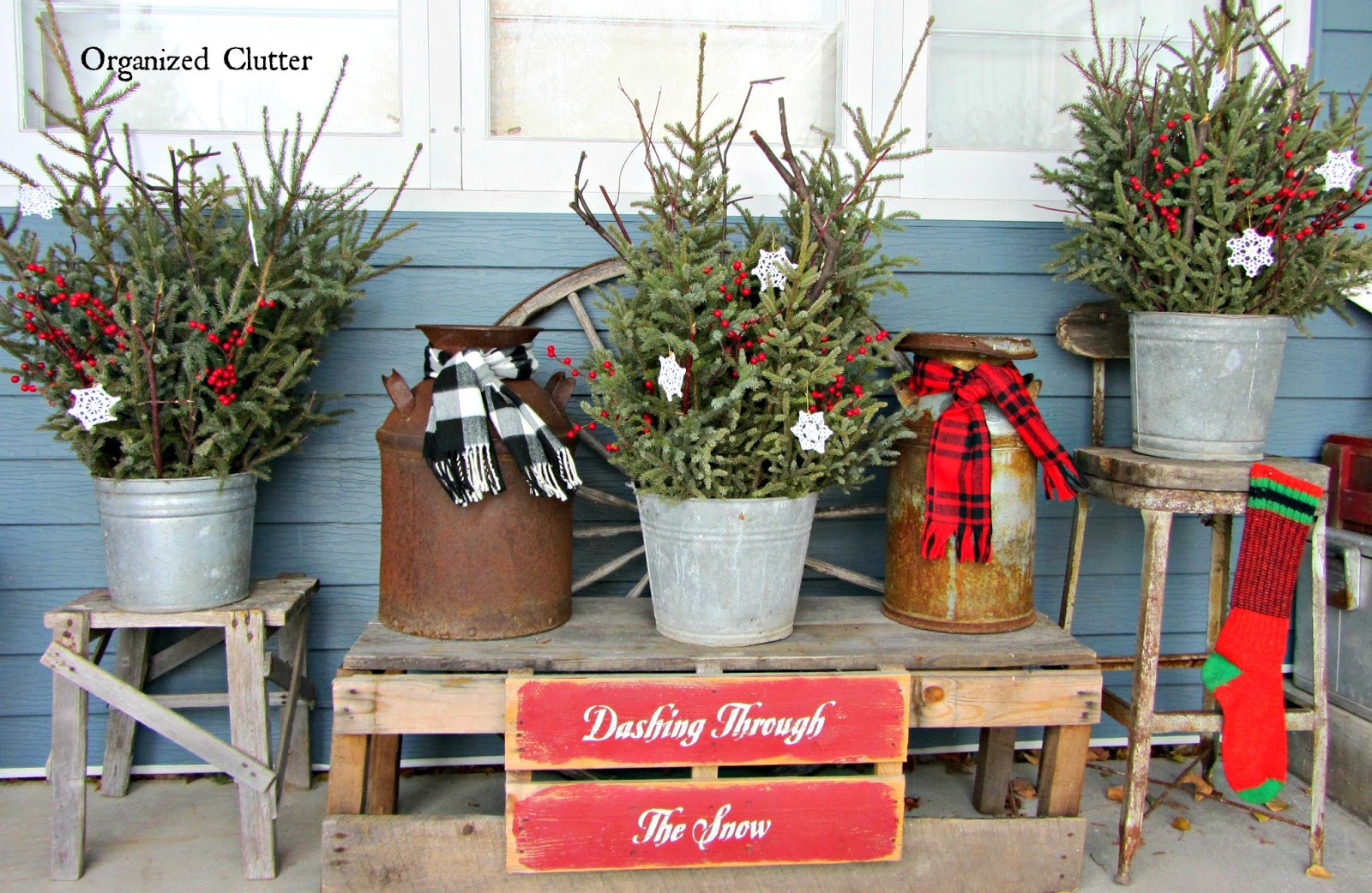 A Rustic Christmas And A Happy New Year