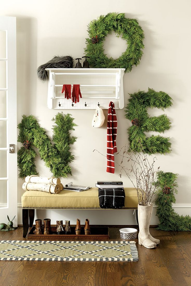 cheerful christmas entryways