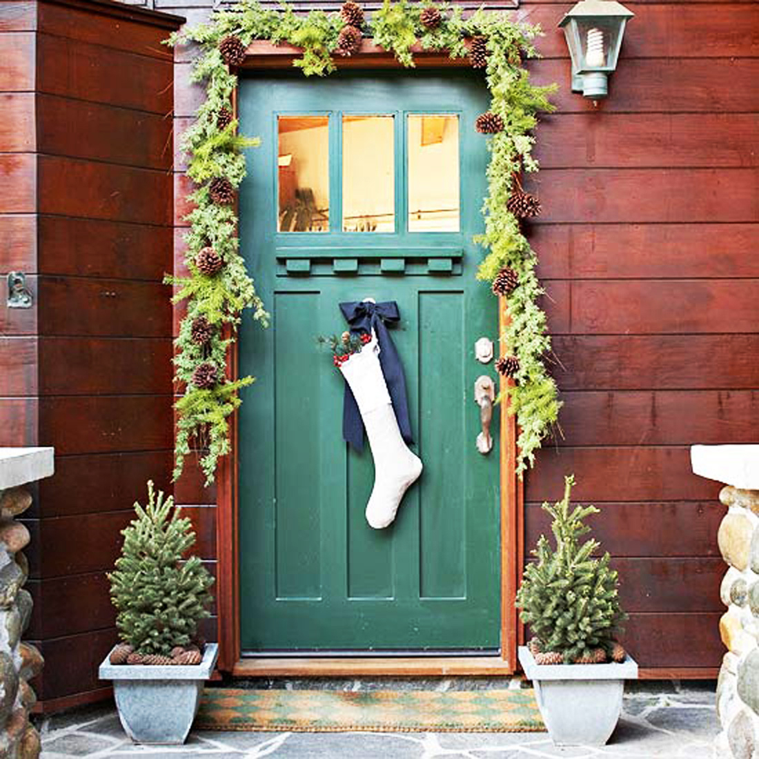 A Door Hanging So Simple, Yet So Beautiful