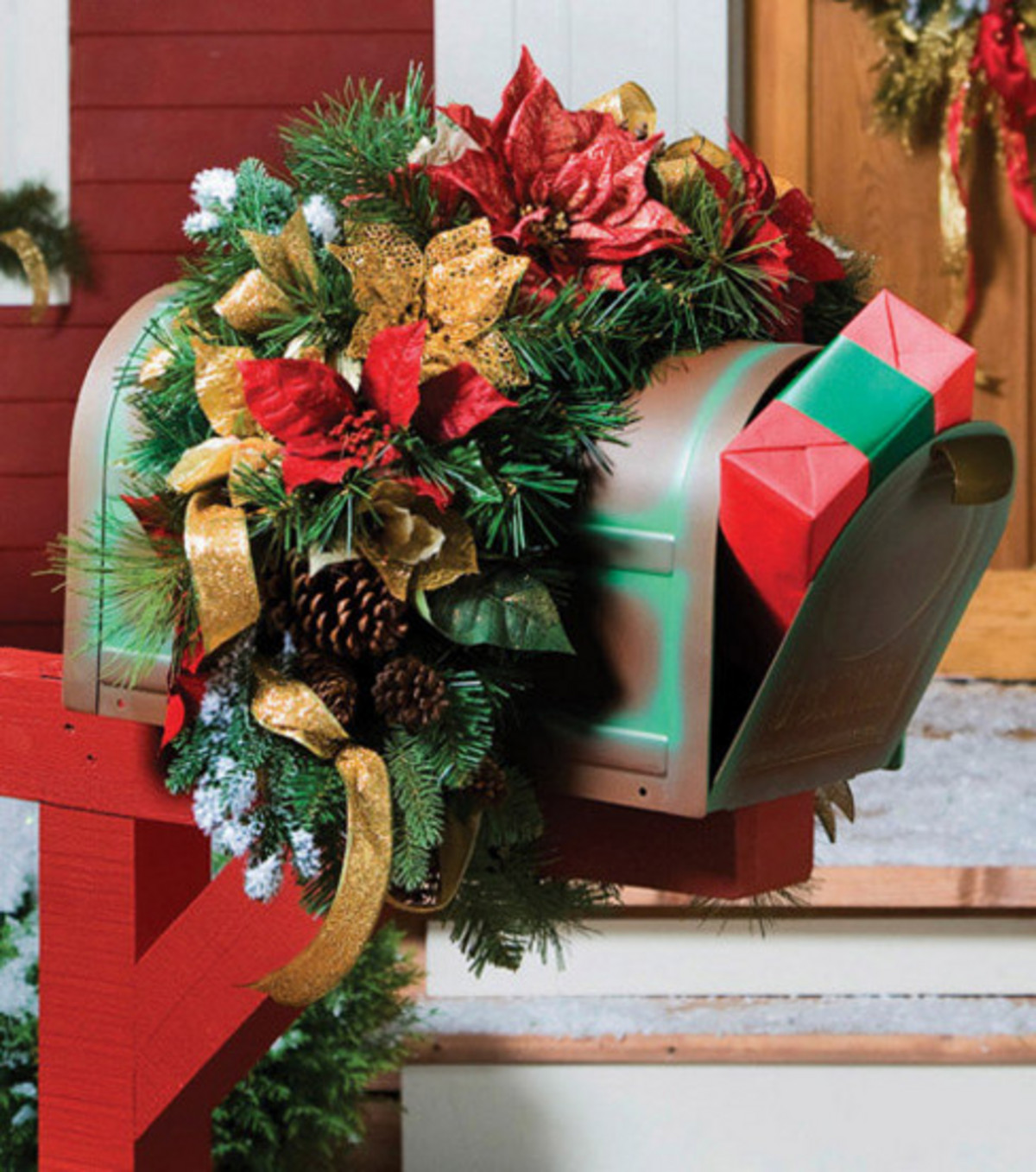 decorations have mailbox boards that you pinkii from creative christmas decor should loveitsomuch swag