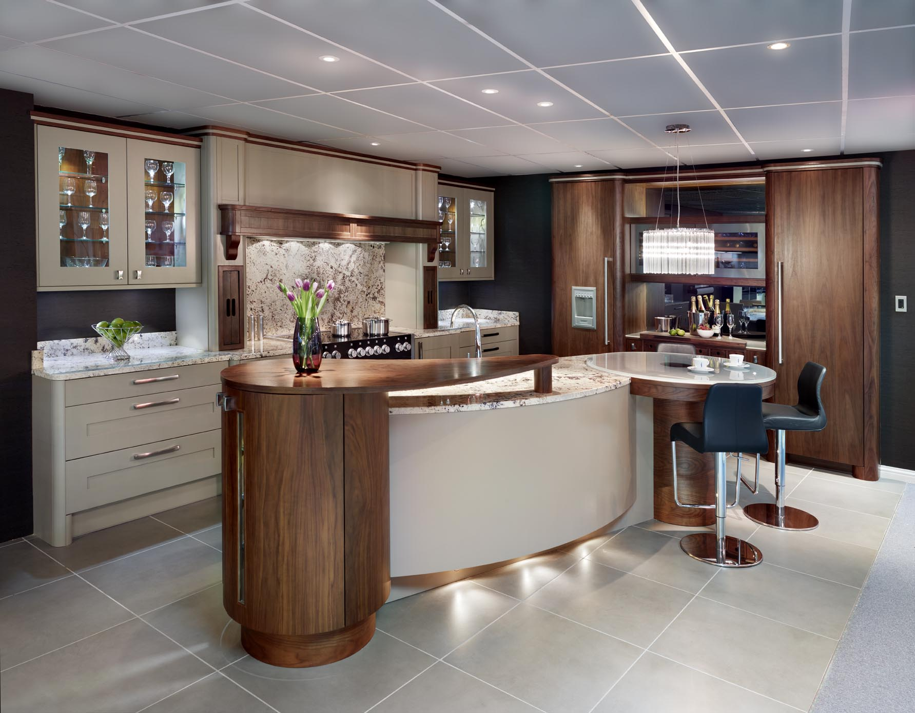 Kitchen charisma kitchen island design