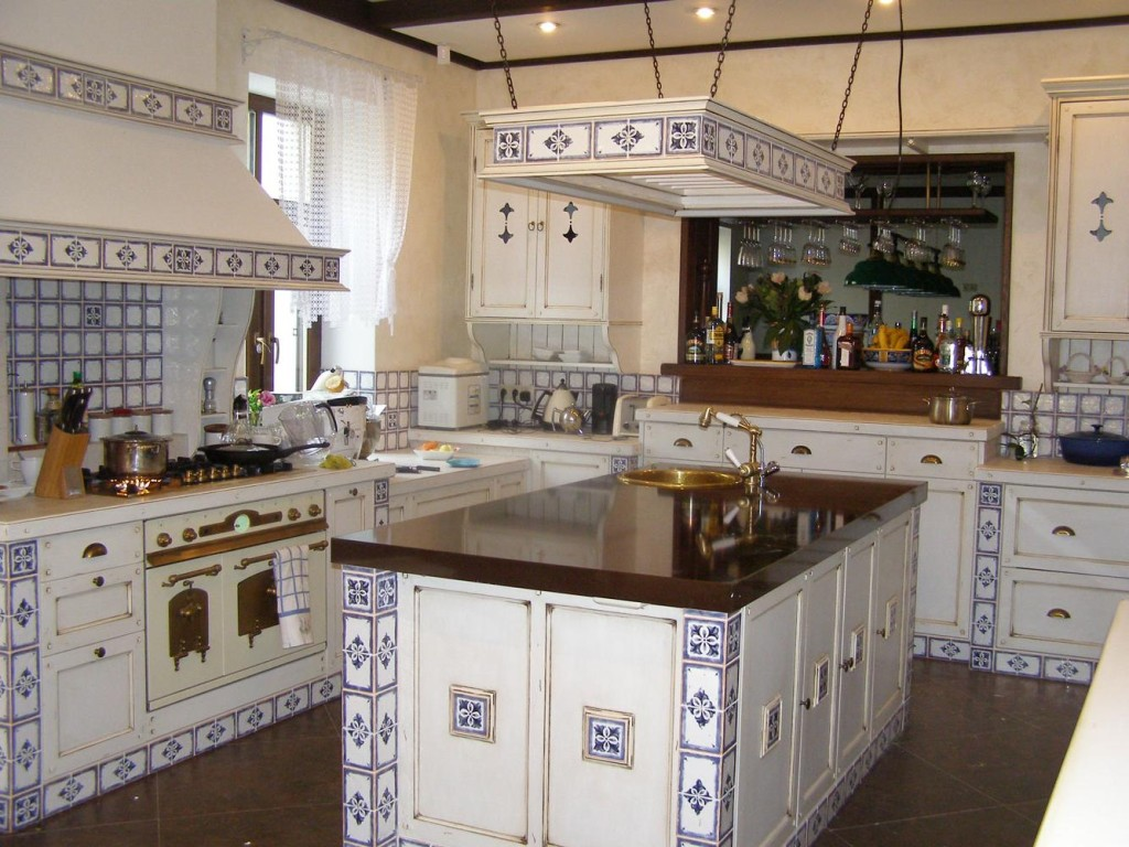 Shaped Kitchen Island Amazing French Country Second