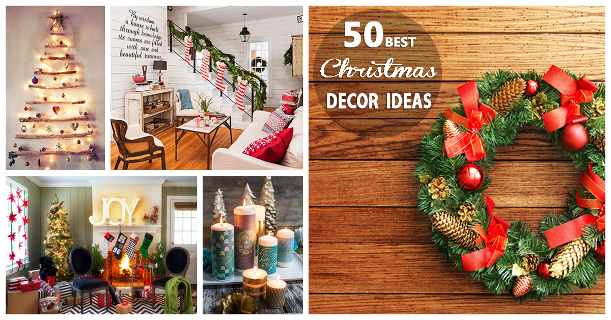Holiday Decorations Ideas Part - 38: 50 Best Christmas Decoration Ideas For 2018