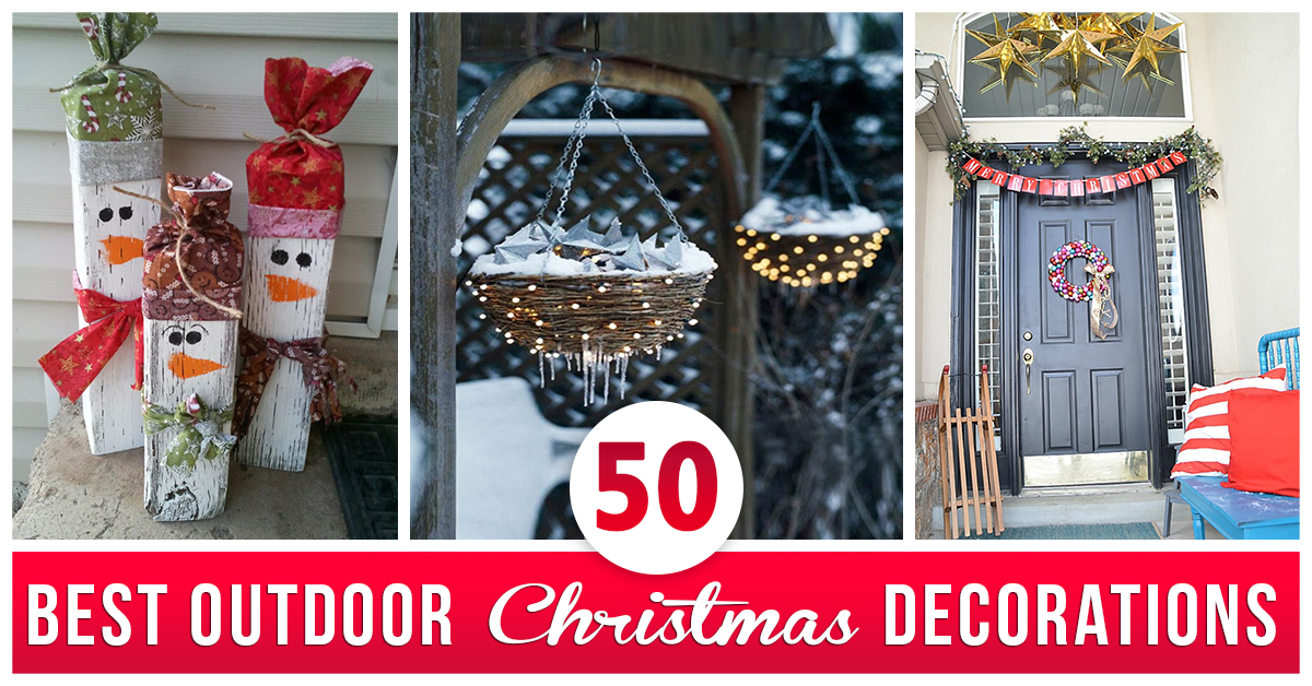 50 best outdoor christmas decorations for 2018 - Best Outdoor Christmas Decorations