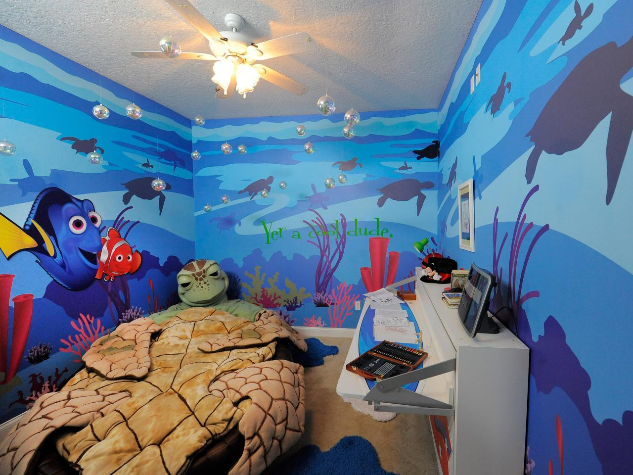 finding nemo kids room design - Disney Bedroom Designs