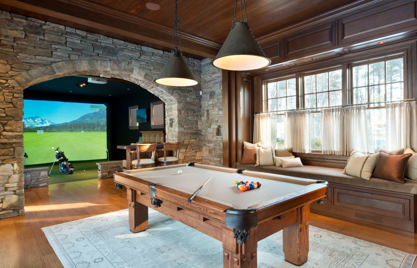 Man Cave With Brick Wall : Lordex