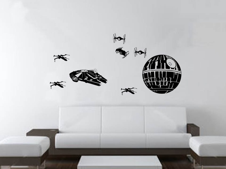 Star Wall Decor Ideas: 45 Best Star Wars Room Ideas For 2019