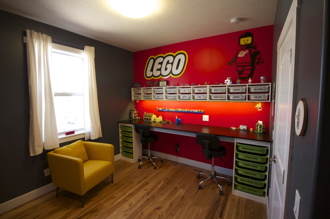 a tiny little taste of lego idea - Boys Room Lego Ideas